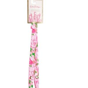 NWT Lilly Pulitzer Sunglass Strap in Pink Colony